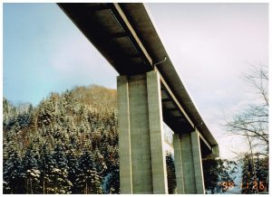 千鳥の沢川橋(PC床版連続合成2主桁橋)