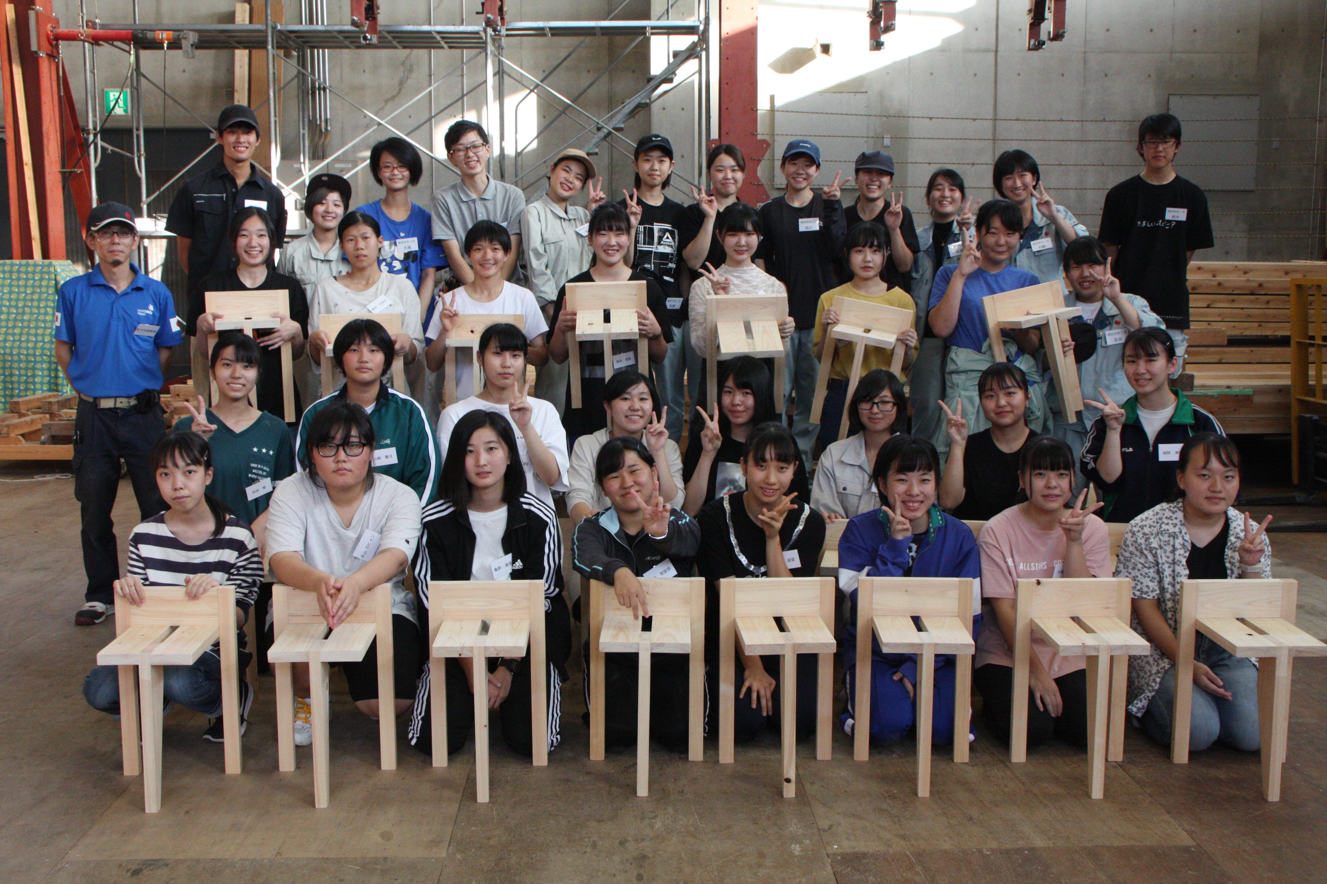 女子高校生のための実習体験教室を実施