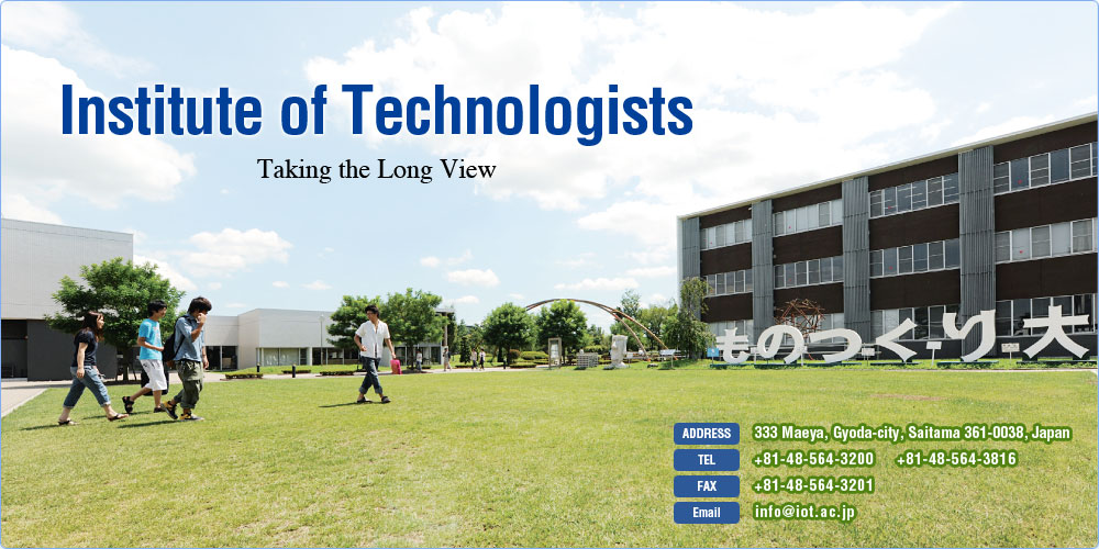 Institute of Technologists: Taking the Long View